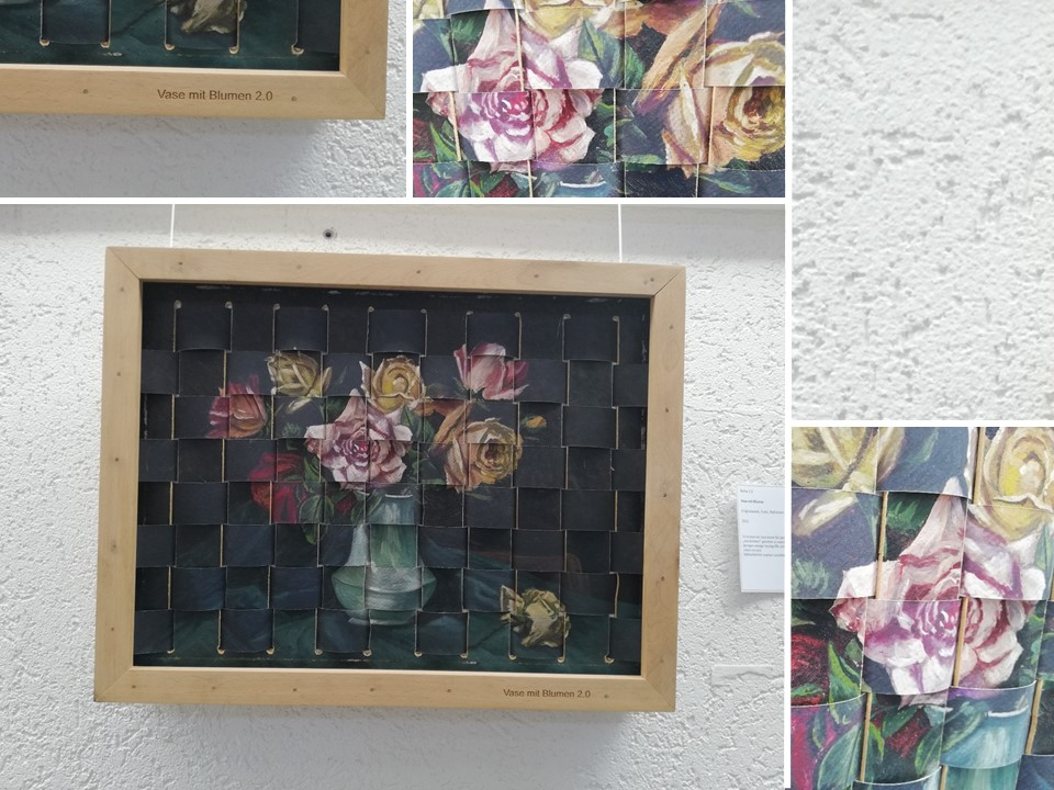 Vase mit Blume