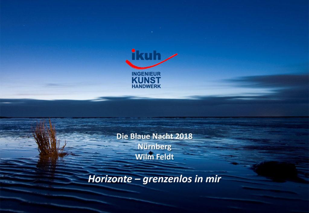 Erstmal Konzepte - Blaue Nacht Nürnberg
